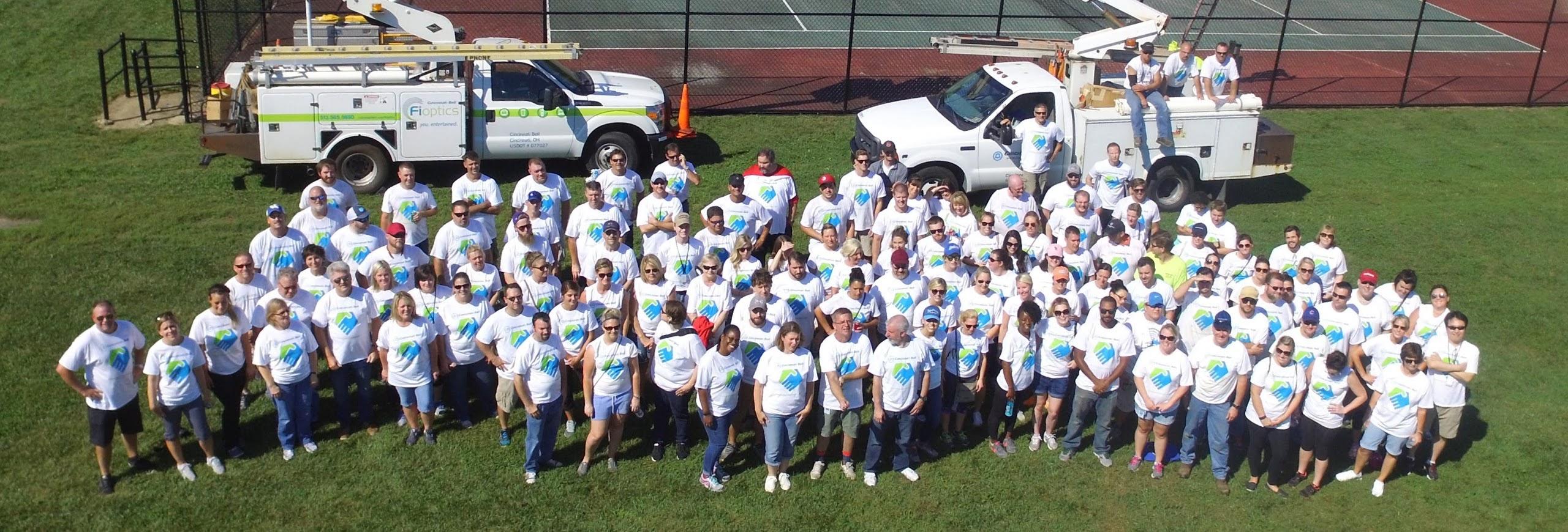 Cincinnati Bell Employees Giving Back