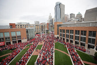 Reds Opening Day - Crowd